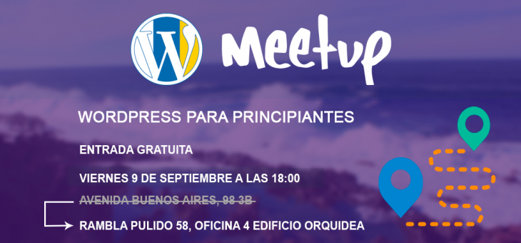 II Meetup, WordPress para principiantes.